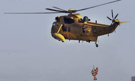 Major Search And Rescue Exercise Takes Place On The River Thames