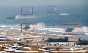 North Korea hovercraft 1