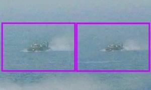 North Korea hovercraft 2