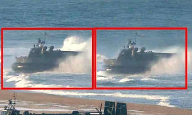 North Korea hovercraft 3