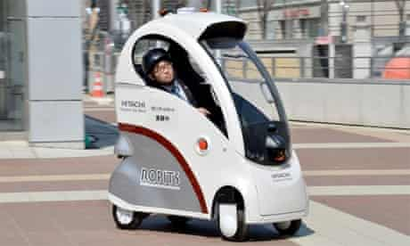 image of Ropits, the self-driving robot car