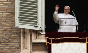 Pope Francis Gives His First Angelus Blessing To The Faithful