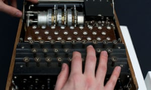 """Whenever a certain writer used to file copy, a news editor i used to work with would bellow """"Break out the Enigma Machine!"""" And here is a cracker. It's a German three-rotor Enigma cipher machine from about 1939. It's up for auction at Christie's  in London and is estimated to fetch between £40,000 to £60,000 pounds."""