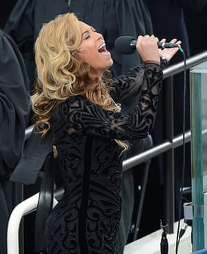Ten best: Beyonce at the US Presidential Inauguration