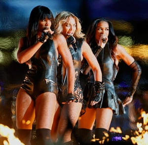 Ten best:  Beyonce and Destiny's Child perform