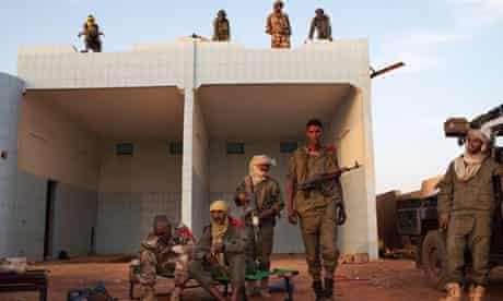Ethnic Tuareg Malian soldiers