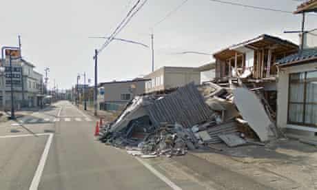 Namie Fukushima Google street view
