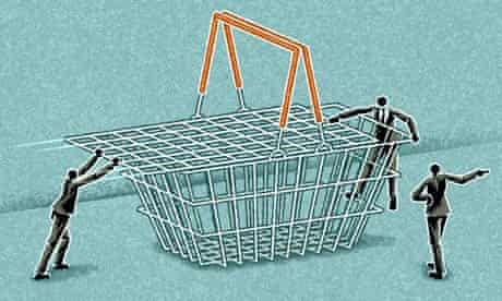 Matt Kenyon shopping basket