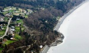 landslide in Washington