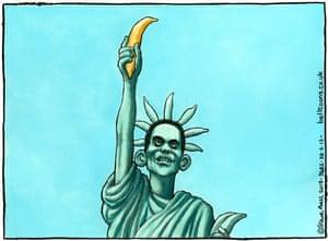 Steve Bell cartoon, 28.03.2013 Photograph: Steve Bell