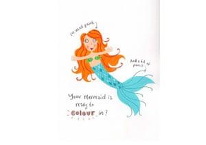 How to draw a mermaid: Mermaid eight