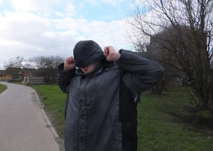Autism photo project: My brother Conor after he was chased by a dog