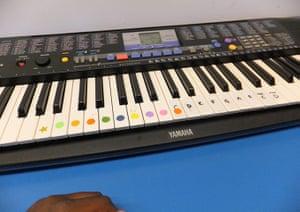 Autism photo project: Akintade's keyboard