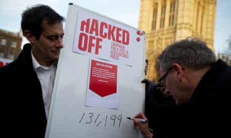 Hacked off campaigners