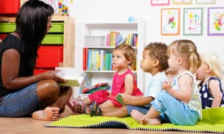 Counting the cost of childcare: a childminder teads to toddlers