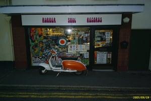Record Shops: Rubber Soul Record shop, Stoke