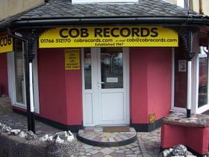Record Shops: Cob Records Porthmadog