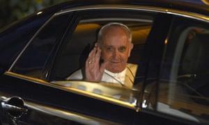 Pope Francis Maundy Thursday