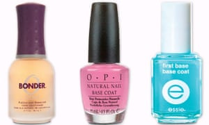 The Best Nail Varnish Barriers Life And Style The Guardian
