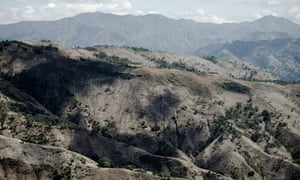 Deforestation in Haiti