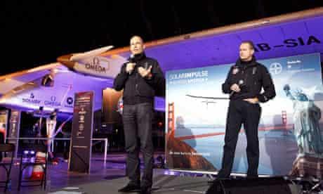 Solar Impulse announcement