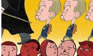 Satoshi Gove cartoon