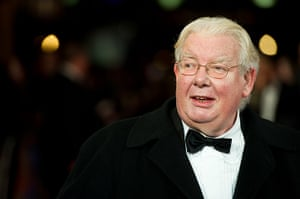 Richard Griffiths obit: 2011: Richard Griffiths attends the royal film performance of Martin Scorse