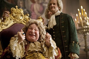 Richard Griffiths obit: 2011: Richard Griffiths playing King George II in 'Pirates Of The Caribbean