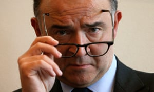 French finance minister, Pierre Moscovici