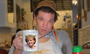 Cultural export … German comedian Henning Wehn.