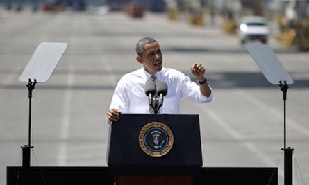 Obama at Port Miami