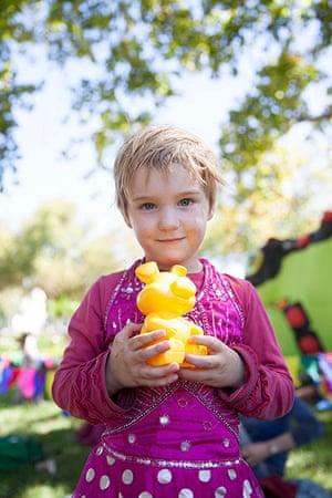 Adelaide Festival Day 3: Elizabeth Hales, 5, from Adelaide