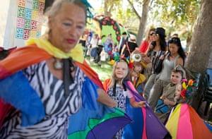 Adelaide Festival Day 3: The Nylon Zoo parade begins