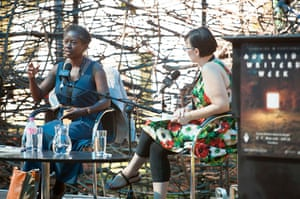 Adelaide Festival Day 3: Karen Lord discusses her book Redemption in Indigo on stage