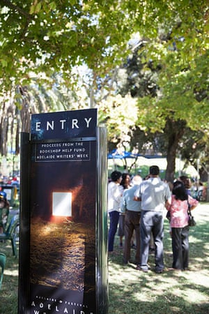 Adelaide Festival Day 3: People enjoy Kids' day at Writers' Week