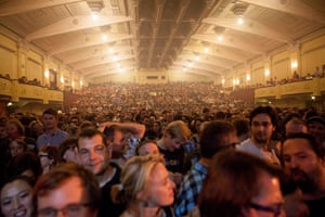 Adelaide Festival Day 3: The crowd for Nick Cave and The Bad Seeds