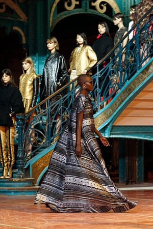 paris fashion week 6: Creations by designers Humberto Leon and Carol Lim for Japanese Kenzo