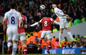 Tottenham v Arsenal: Bale beats Arteta