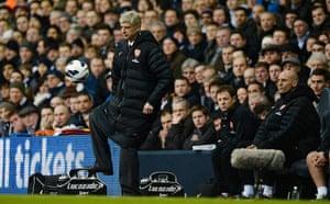Tottenham v Arsenal: Arsene Wenger