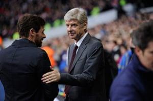 Tottenham v Arsenal: Villas-Boas and Wenger