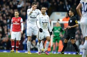 Tottenham v Arsenal: Bale and Lennon