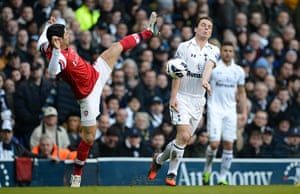 Tottenham v Arsenal: Arteta and Parker