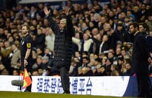 Tottenham v Arsenal: Wenger dejected