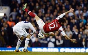 Tottenham v Arsenal: Livermore and Giroud