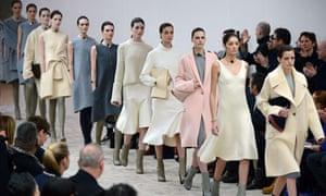 Céline autumn/winter 2013 collection at Paris fashion week