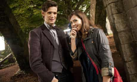 Matt Smith and Jenna-Louise Coleman in Doctor Who