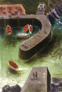 Down in the Harbour, 1995, by Bernard Cheese