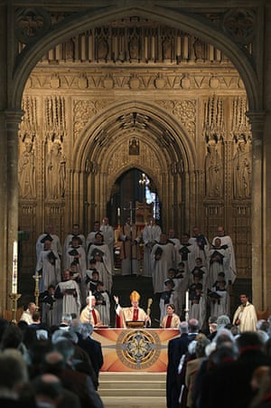 Easter Sunday: The Archbishop Of Canterbury Justin Welby's first Easter Sunday in office