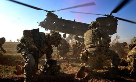 Royal Marines from Alpha Company, 40 Commando, Afghanistan 7/12/12