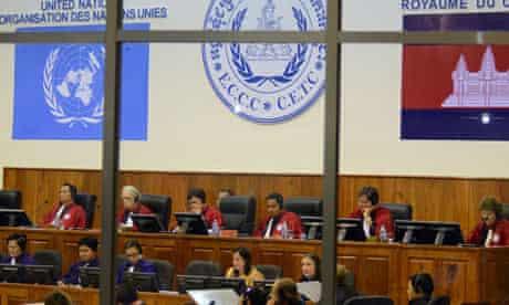 Khmer Rouge tribunal in Cambodia